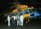 Hình ảnh trực thăng Việt Nam tìm kiếm máy bay Malaysia
