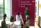 Bệnh viện 19-8 khám bệnh, cấp phát thuốc miễn phí tại Cao Phong