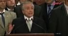 Tổng thống lâm thời Brazil công bố thành phần nội các mới