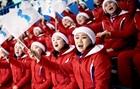 Đoàn cổ vũ Triều Tiên gây ấn tượng mạnh tại Hàn Quốc