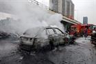 Nữ tài xế Mercedes gây tai nạn kinh hoàng khai đạp nhầm chân ga