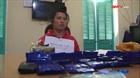 Điện Biên: Bắt nữ đối tượng vận chuyển lượng ma túy lớn