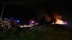 Đồng Nai: Cháy lớn thiêu rụi nhiều căn nhà tranh