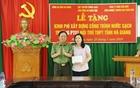 Cục Truyền thông CAND trao quà từ thiện tại tỉnh Hà Giang