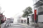 Hà Nam diễn tập phương án chữa cháy và cứu nạn nhà cao tầng