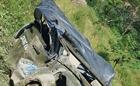 Hiện trường vụ ô tô rơi xuống vực sông Nho Quế