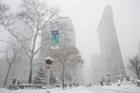 Bão tuyết đầu mùa phủ kín New York