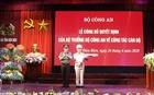 Công bố quyết định bổ nhiệm Giám đốc Công an tỉnh Điện Biên