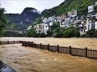 Trung Quốc ban bố cảnh báo xanh về mưa lũ