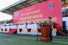 Khai mạc Đại hội khỏe Vì an ninh Tổ quốc lần thứ VIII