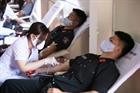 Giọt máu nghĩa tình của người chiến sỹ công an nhân dân