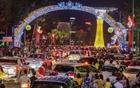 Hàng vạn người xem bắn pháo hoa tại Lễ giỗ Tổ Hùng Vương