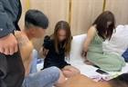 Lâm Đồng: Bắt quả tang 14 nam nữ bay lắc trong khu du lịch