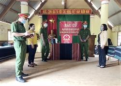 Lực lượng CAND đóng góp quan trọng vào thành công cuộc bầu cử