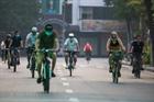 Người dân Hà Nội phấn khởi ra đường tập thể dục