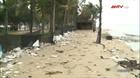 Bờ biển Cửa Đại sạt lở lan rộng