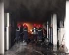Bắc Ninh: Cháy lớn tại Công ty JITECH