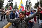 Người dân Ecuador tổng đình công phản đối chính phủ