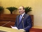 Thủ tướng Chính phủ trả lời chất vấn tại Kỳ họp 10, Quốc hội khóa 14