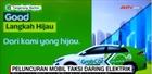 Taxi điện bắt đầu lăn bánh tại Indonesia
