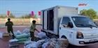 Tạm giữ xe tải chở khẩu trang không có hóa đơn chứng từ