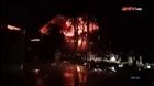 Cháy lớn nhà xưởng 200m2 ở Thanh Trì