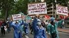 Biểu tình phản đối chính sách y tế của chính phủ Pháp