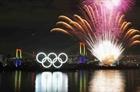 Trình diễn pháo hoa đếm ngược một năm đến Olympic Tokyo