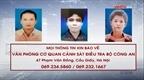 Công an tỉnh Phú Thọ truy nã các đối tượng chiếm đoạt tài sản