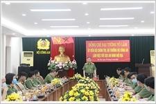 Bộ trưởng Tô Lâm làm việc với Cục An ninh nội địa