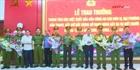 Khen thưởng thành tích khám phá vụ bắn chết 2 người ở Nghệ An