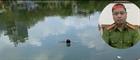 Thiếu tá Công an cứu người nhảy hồ tự tử