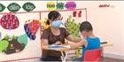 Chăm sóc trẻ em tại khu cách ly tập trung