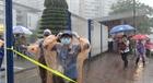 Điểm thi vào lớp 10 tặng đồng phục cho thí sinh bị ướt mưa