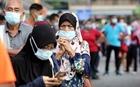 Nhiều nơi ở Malaysia, tỷ lệ mắc COVID-19 chiếm gần 70% số xét nghiệm