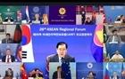 Diễn đàn Khu vực ASEAN kêu gọi duy trì an ninh và tự do hàng hải ở Biển Đông