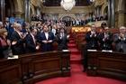 Cơ quan lập pháp Catalonia tuyên bố độc lập