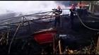 Cháy lớn tại vựa phế liệu Bình Dương