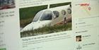 Người tung tin máy bay rơi có thể bị phạt 10-20 triệu đồng