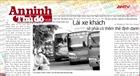 Tin tức nổi bật trên báo ngày 30/7