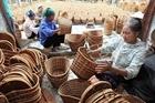 Tinh hoa nghề mây tre đan Phú Vinh