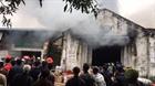 Cháy kho hàng 2.000 m2 gần chợ Vinh