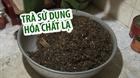 Phát hiện cơ sở dùng hóa chất tẩm ướp trà
