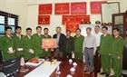 Bộ trưởng Tô Lâm thăm và tặng quà Công an xã Nghĩa Trụ, Hưng Yên