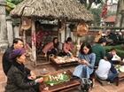 Mộc mạc hương Tết Việt ở đình làng Lệ Mật