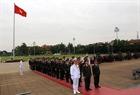 Đoàn viên thanh niên ưu tú viếng Lăng Chủ tịch Hồ Chí Minh