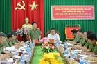 Thứ trưởng Nguyễn Văn Sơn làm việc tại Công an tỉnh Long An