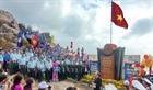 Lễ chào cờ đầu năm mới ở điểm cực Đông đất liền Tổ quốc