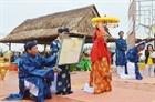 Lễ hội Cầu Bông tại làng rau Trà Quế