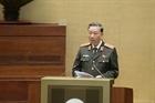 Bộ trưởng Tô Lâm trình bày tờ trình 3 dự án Luật trước Quốc hội